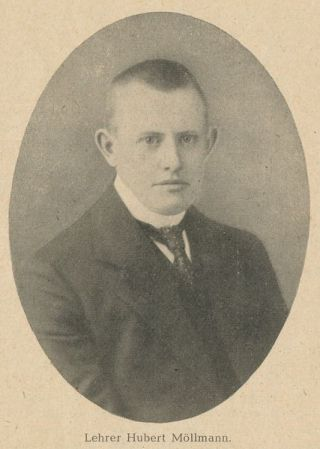 Leraar Hubert Möllmann (Archief Bremen)