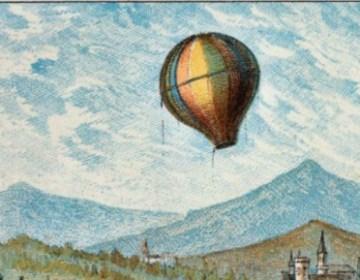 4 juni 1783 - De gebroeders Montgolfier demonstreren hun heteluchtballon