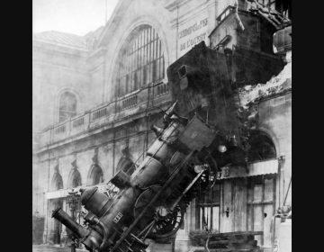 Treinongeluk op Gare Montparnasse, Parijs (1895)