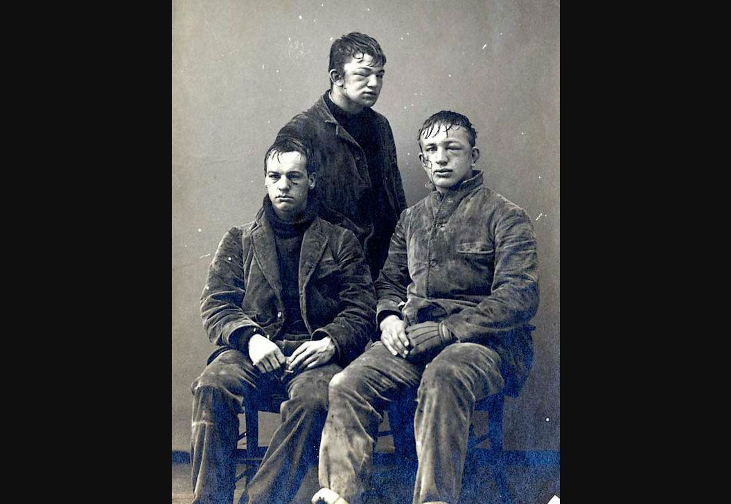 Slachtoffers van een sneeuwballengevecht (1892)