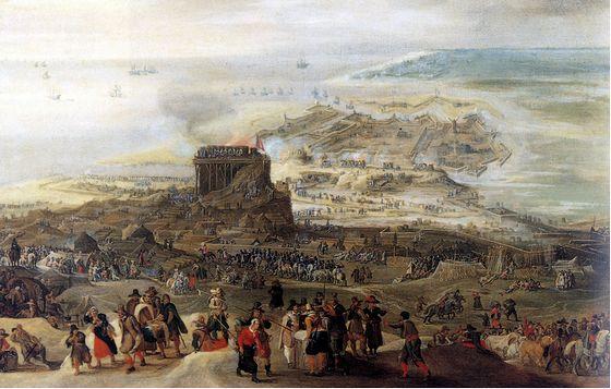 4 juli 1601 – Begin van het beleg van Oostende