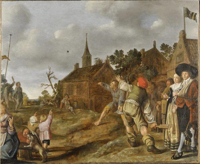 De balspelers - Jan Miense Molenaer, 1631