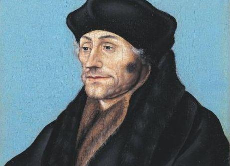 Portret van Desiderius Erasmus – Lucas Cranach de Oude, ca. 1530-1536