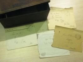 Een aantal van de brieven - Foto: werkkampyde.nl