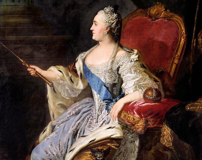 Catharina de Grote - Fyodor Rokotov, 1763