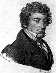 Jacob van Lennep in 1832 - Tekening van W. Grebner en P. Velijn uit 1832
