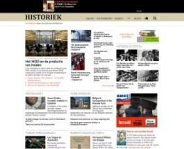 Historiek heeft een nieuwe site