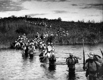 Foto: Loopgraven in Afrika 1914-1918 / EPO