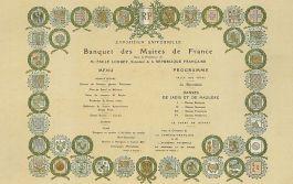 Afbeelding: frenchgourmethk, waar meer over het 1900 Banquet de Maires