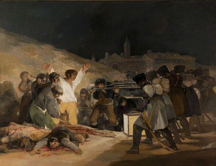 De executie van de opstandelingen op 3 mei 1808 - Francisco Goya