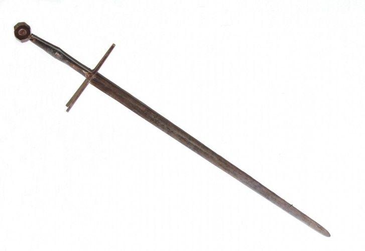 Het zwaard van de Friese krijgsheer en vrijheidsstrijder Grutte Pier Pier (Pier Gerlofs Donia) is één van de topstukken van het museum - Foto: Fries Museum