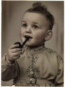 De auteur aan het begin van de mooiste jaren van Nederland in 1952.