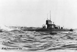 Engelse duikboot uit de Eerste Wereldoorlog (E1)