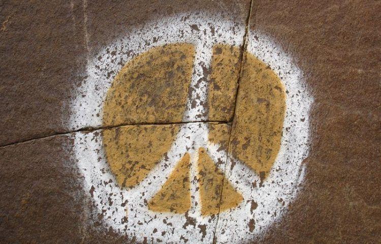 Peace-teken - Foto: stock.xchng