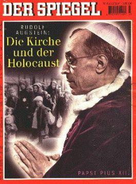 Het Duitse opinieblad Der Spiegel wijdde in 1997 een reportage aan Pius XII onder de titel 'De kerk en de holocaust'.