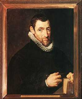 Christoffel Plantin geschilderd door Peter Paul Rubens (1577–1640)