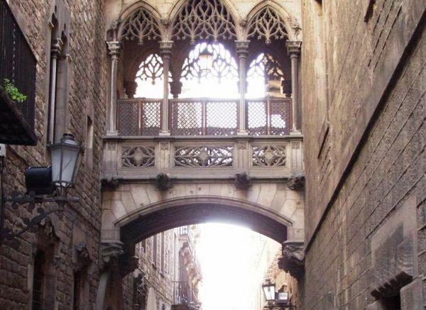 De Barri Gòtic in het centrum van de oude stad van Barcelona - Foto: CC/Llull