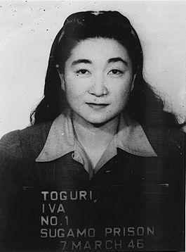 Mugshot van Iva Toguri alias ´Tokyo Rose´