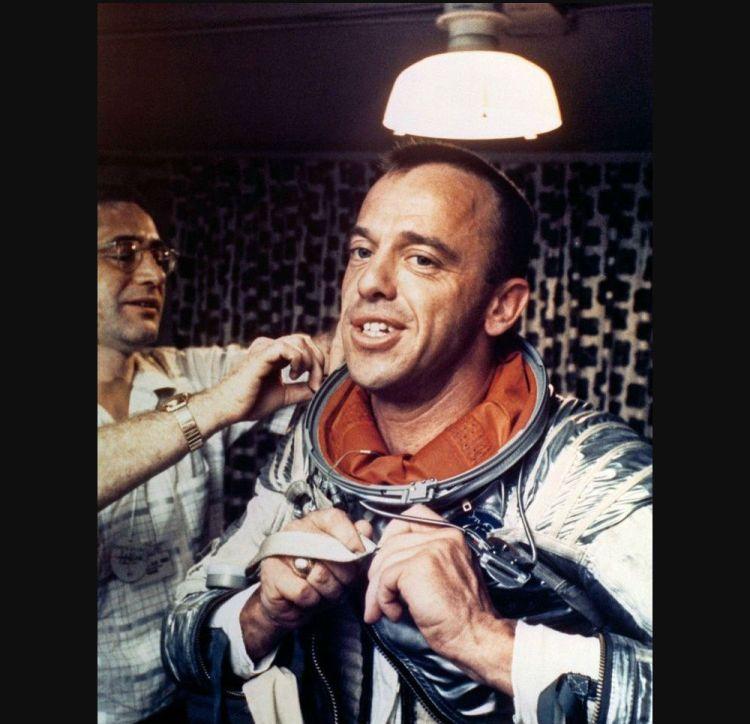 Alan Shepard, de man die golfde op de maan