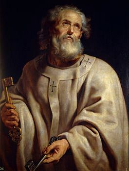 Petrus volgens Peter Paul Rubens