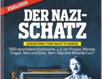 Het Duitse blad Focus bracht de kunstzaak een week geleden in de publiciteit
