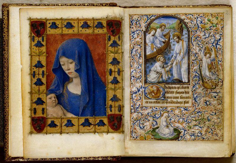 Getijdenboek van Simon de Varie, vijftiende eeuw (KB)