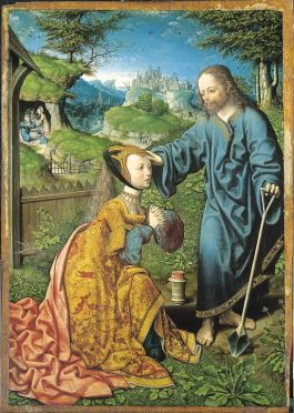 Jacob Cornelisz van Oostsanen, Noli me tangere, 1507, collectie Staatliche Museen Kassel