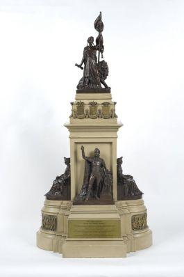 Maquette van het Monument Plein 1813 door Jan Jozef Jaquet, 1868. Collectie Haags Historisch Museum