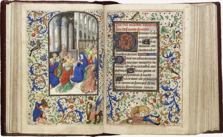 Trivulzio-getijdenboek, vijftiende eeuw (KB)