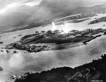 Aanval op de marinebasis Pearl Harbor - US Navy