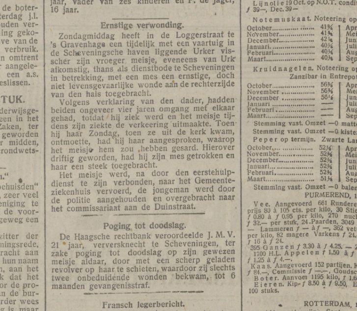 Bericht in 'De Tijd' van 19 oktober 1915 - KB