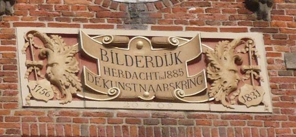 Gevelsteen op een pand aan de Grote Markt in Haarlem - Foto: CC/Jane023