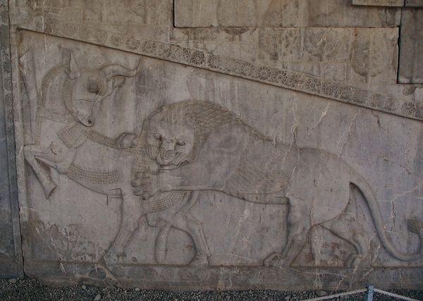 Leeuw en stier (Livius)
