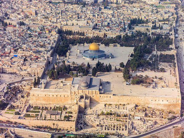 Tempelberg in de oude stad van Jeruzalem