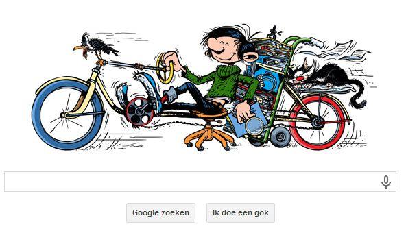 Jarige Guust Flater Geerd Met Google Doodle
