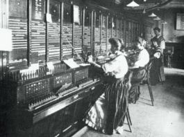 Oude telefooncentrale