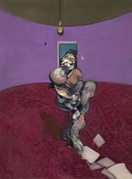 Portrait of George Dyer Talking - Francis Bacon