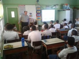 Voor de klas in Curaçao