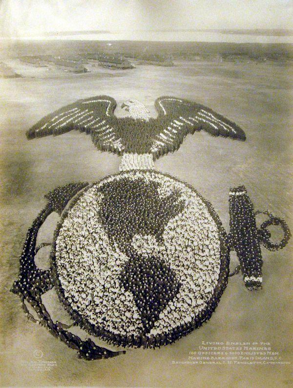 Living Emblem of the United States Marines - Arthur Mole, 1919