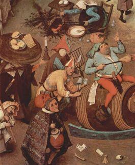 Bourgondisch carnaval - Pieter Bruegel de Oude, 1559