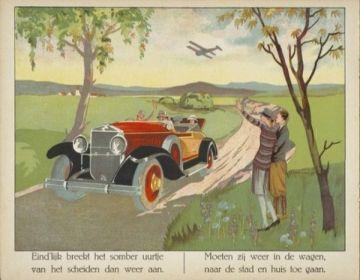 Buiten! Waar de vogels fluiten, ca. 1925
