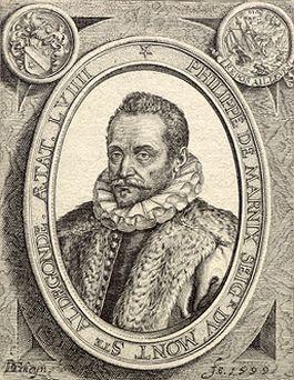 Portret van Marnix van St. Aldegonde door Jacob de Gheyn