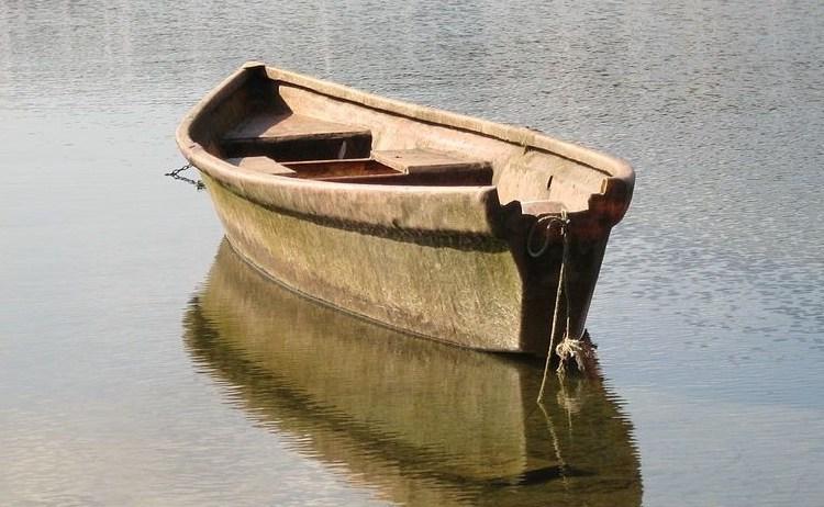 Boot zoals die bij scafisme gebruikt werd