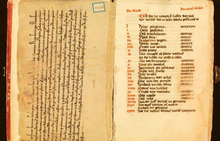 Zusterboek Meester Geertshuis (Geert Grote Huis)