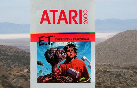 Het geflopte spel 'ET Extra-Terrestrial' (Afb: Microsoft)