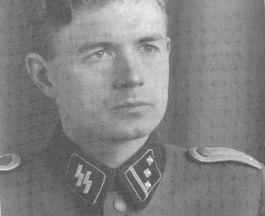 Gerhard Stroink in uniform van de Waffen-SS (Privécollectie P. van Holsteijn)