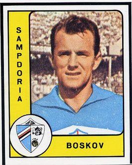Vujadin Boskov als speler van Sampdoria