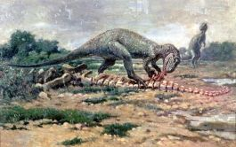 'Allosaurus' door Charles Knight