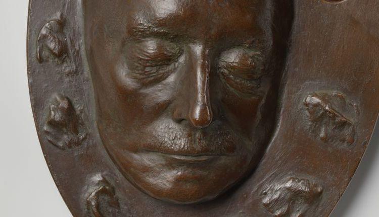 Dodenmasker van Han van Meegeren