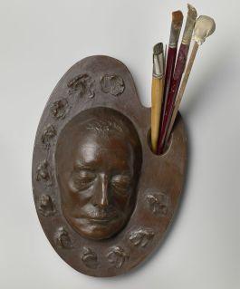 Dodenmasker van Han van Meegeren (Rijksmuseum)